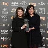 """El equipo de """"Cold War"""" con su Goya 2019 a Mejor película europea"""