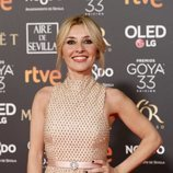 Cayetana Guillén Cuervo en la alfombra roja de los Goya 2019