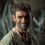 Francesco Arca en la nueva serie de RTVE 'Promesas de arena'