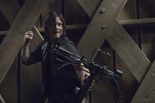 Norman Reedus como Daryl en la novena temporada de 'The Walking Dead'