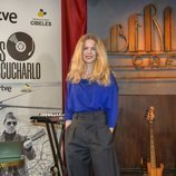 Christina Rosenvinge en la presentación de 'Un país para escucharlo'
