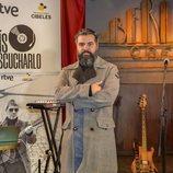 Julián Saldarriaga en la presentación de 'Un país para escucharlo'