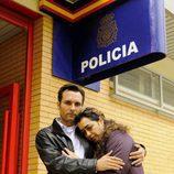 Antonio Chamizo y María Isasi en 'Días sin luz'