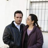 Juan José Cortés e Irene Suárez en 'Días sin luz'
