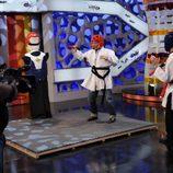 Rob Schneider se divierte en 'El hormiguero'