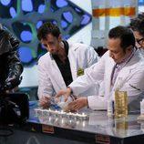 Rob Schneider experimenta en 'El hormiguero'
