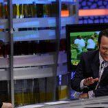Rob Schneider junto a Pablo Motos en 'El hormiguero'