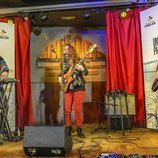 Ariel Rot, Dj Bronquio y La Tremendita actuando en el programa de La 2 'Un país para escucharlo'