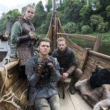 Los hijos de Ragnar de 'Vikings' comparten barca