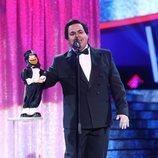 Brays Efe como José Luis Moreno en la Gala 14 de 'Tu cara me suena'