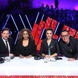 Lolita, Carlos Latre, Chenoa y Àngel Llàcer en la Gala 14 de 'Tu cara me suena'