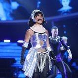 Soraya Arnelas como Whitney Houston en la Gala 14 de 'Tu cara me suena'