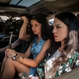 Yolanda Torosio y Sofía Oria en el rodaje de la segunda temporada de 'Gigantes'