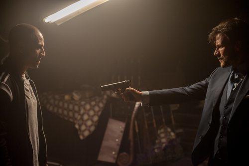 Nene y Daniel Grao en la segunda temporada de 'Gigantes'
