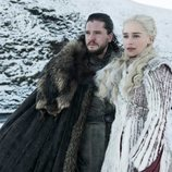 Jon Nieve y Daenerys Targaryen en la octava y última temporada de 'Juego de Tronos'