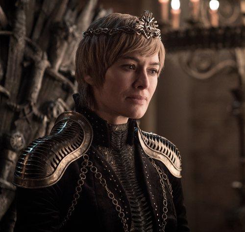 Cersei Lannister con la mirada perdida en la octava temporada de 'Juego de Tronos'