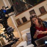 Juana Acosta en el rodaje de la segunda temporada de 'Gigantes'