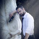 Jesús Castro en el cartel promocional de la serie 'Secretos de Estado'