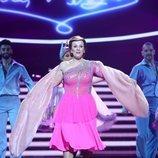 Anabel Alonso como Lina Morgan en la gala final de 'Tu cara me suena 7'