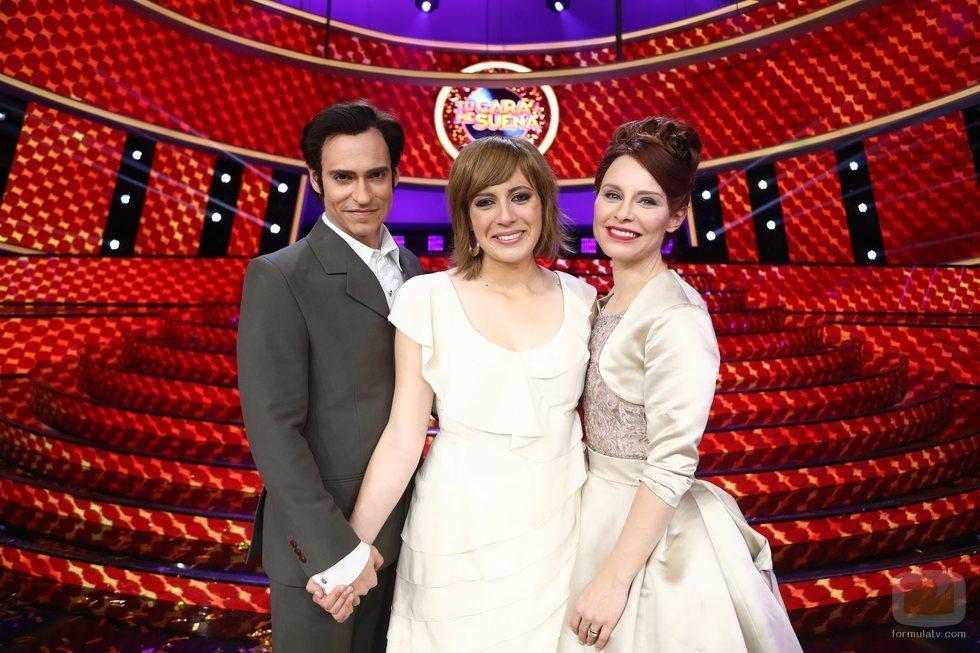 Los tres finalistas en la gala final de 'Tu cara me suena 7'