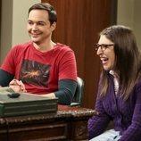 Amy y Sheldon se divierten en la temporada 12 de 'The Big Bang Theory'