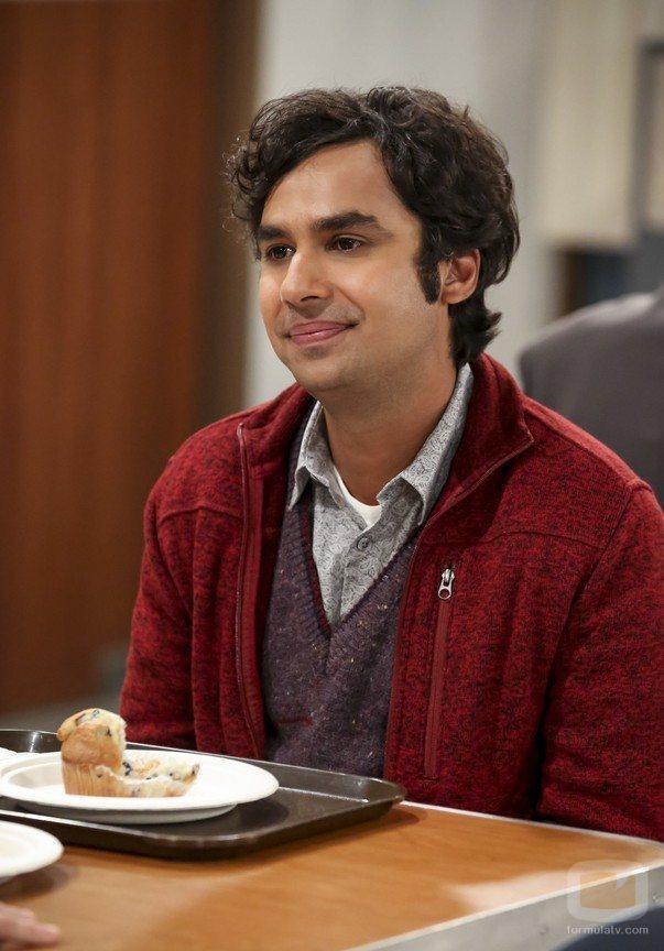 Rajesh en la temporada 12 de 'The Big Bang Theory'