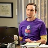 Sheldon en su despacho en la temporada 12 de 'The Big Bang Theory'