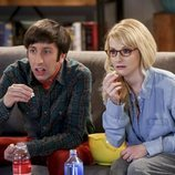 Howard y Bernadette, sorprendidos en la temporada 12 de 'The Big Bang Theory'
