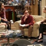 Sheldon, Amy, Leonard y Penny en la temporada 12 de 'The Big Bang Theory'