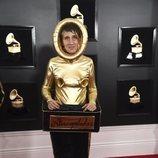Andrea Echeverri, en la alfombra roja de los Premios Grammy 2019