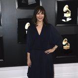 Rashida Jones, en la alfombra roja de los Premios Grammy 2019