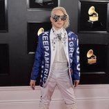 Ricky Rebel, en la alfombra roja de los Premios Grammy 2019