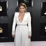 Meghan Trainor, en la alfombra roja de los Premios Grammy 2019