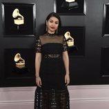 Alessia Cara, en la alfombra roja de los Premios Grammy 2019