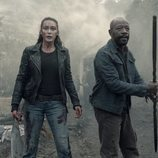 Morgan y Alicia codo con codo en la quinta temporada de 'Fear The Walking Dead'
