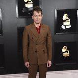 Charlie Puth, en la alfombra roja de los Premios Grammy 2019