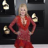Dolly Parton, en la alfombra roja de los Premios Grammy 2019