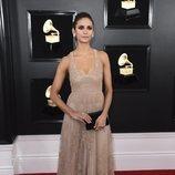 Nina Dobrev, en la alfombra roja de los Premios Grammy 2019