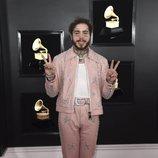 Post Malone, en la alfombra roja de los Premios Grammy 2019
