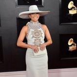 Jennifer Lopez, en la alfombra roja de los Premios Grammy 2019
