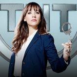Rashida Jones promociona la cuarta temporada de 'Angie Tribeca'