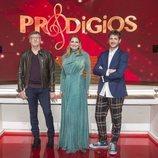 Nacho Duato, Ainhoa Arteta y Andrés Salado en 'Prodigios', el talent show de RTVE