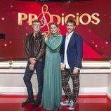 Nacho Duato, Ainhoa Arteta y Andrés Salado, jurado de 'Prodigios'