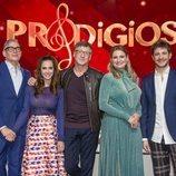Los conductores y el jurado de 'Prodigios', el talent show de RTVE