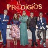 Equipo de 'Prodigios', el talent show infantil musical de RTVE