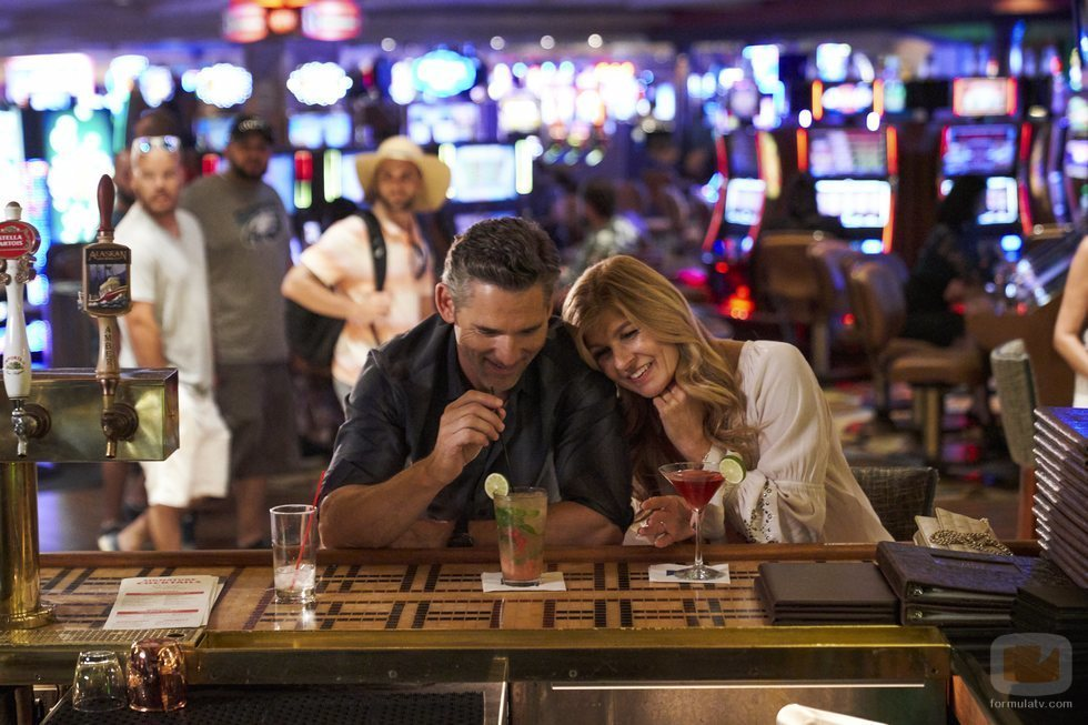 La pareja interpretada por Connie Britton y Eric Bana en 'Dirty John' de Netflix