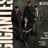 Cartel promocional de la segunda y última temporada de 'Gigantes'