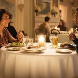 Carmen Ejogo y Mahershala Ali en la tercera temporada de 'True Detective'