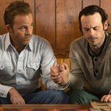 Stephen Dorff y Scoot McNairy en la tercera temporada de 'True Detective'