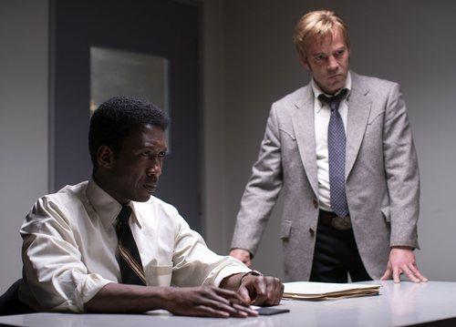 La pareja de detectives interpretada por Mahershala Ali y Stephen Dorff en la tercera temporada de 'True Detective'